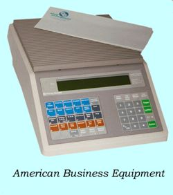 how to change battery in pitney bowes postage meter